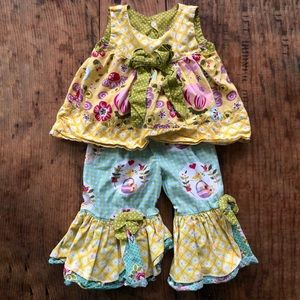 Jelly the Pug 2T Two Piece Set